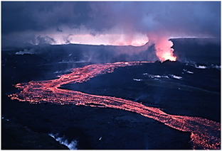 Krafla Lava flow North Iceland USGS