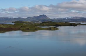 Lake Myvatn North Iceland