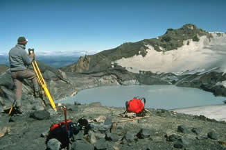Ruapehu Summit Crater USGS