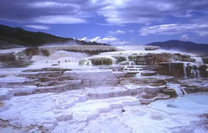 Mammoth Hot Springs WM