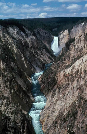 Yellowstone Canyon Wolfgangbeyer