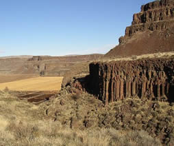 Flood basalt Columbia river