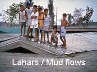 Lahars and Volcanic Mud flows