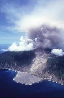 Soufriere Hills Eruption MVO