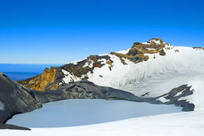 Summit area Ruapehu