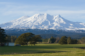 Mt.Ruapehu lies within Taupo Volcanic Zone: New Zealand