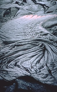 Pahoehoe ropey lava USGS