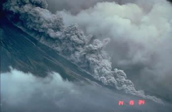 Mayon Pyroclastc flow USGS