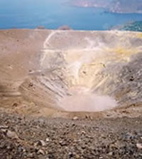 The Crater of Vulcano LKP